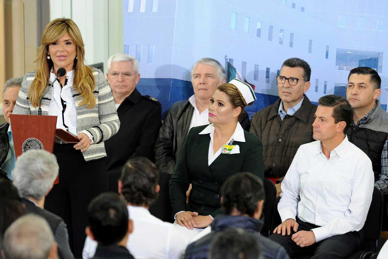 Resultado de imagen para Entregan Gobernadora Pavlovich y Presidente Peña nuevo hospital para 236 mil afiliados del IMSS